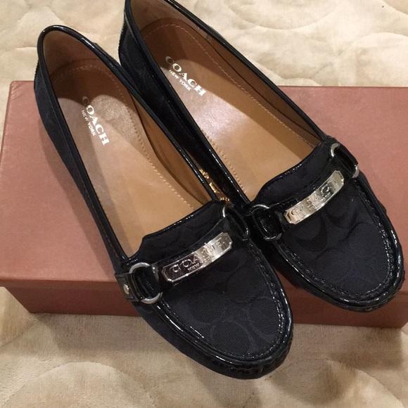 7188ac4322f Coach Shoes - Coach black loafers